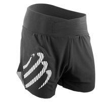 COMPRESSPORT Racing Overshorts Black