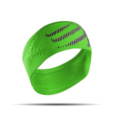 COMPRESSPORT HeadBand On/Off Green