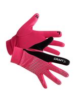 CRAFT Běžecké rukavice Brilliant 2.0 Thermal Pink
