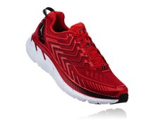 HOKA ONE ONE Clifton 4 Red