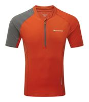 Montane Fang Zip T-Shirt Red